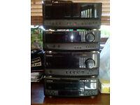 Kenwood stereo stack (Amp, tuner, 6CD changer & tapes)