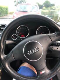 Audi A4 s line 2.4 Quattro silver convertible