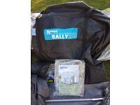 Kampa Rally 260 Porch Awning Peral Gray