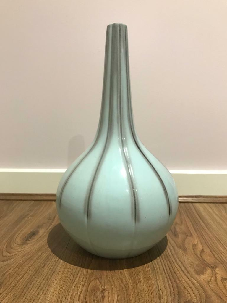 Next Duck Egg Blue Vase In Marlborough Wiltshire Gumtree