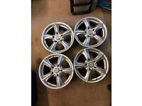 """VW T5 Zito Alloy 17"""" wheels (4)"""