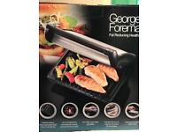 Brand new George Foreman fat reducing health grill family 5 portion grill
