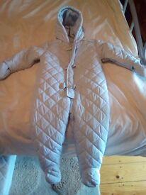 Winter suit 12-18 mths