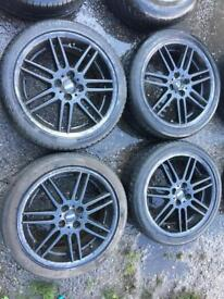 "Mini 17"" alloy wheels 4x100"