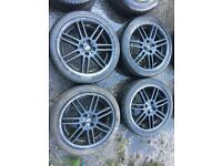 "Mini 17"" alloy wheels 4x100"