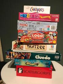 Board games job lot