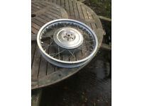 BMW R50/5, R60/5, R60/6, R75/5, R75/6 R90/6 Rear wheel
