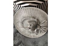 Beautiful silver grey hat-inator in excellent condition