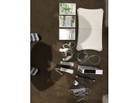 Wii Console+wii Fit+games