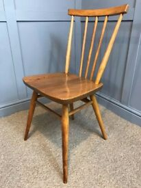 Ercol Windsor All Purpose Chair Elm & Beech - Retro