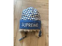 Men's Supreme Trapper Trooper Hat Winter Earflap Warm Face Mask Ski Hat Cap