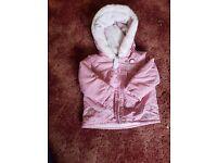 6-9 Months Girls Winter Coat