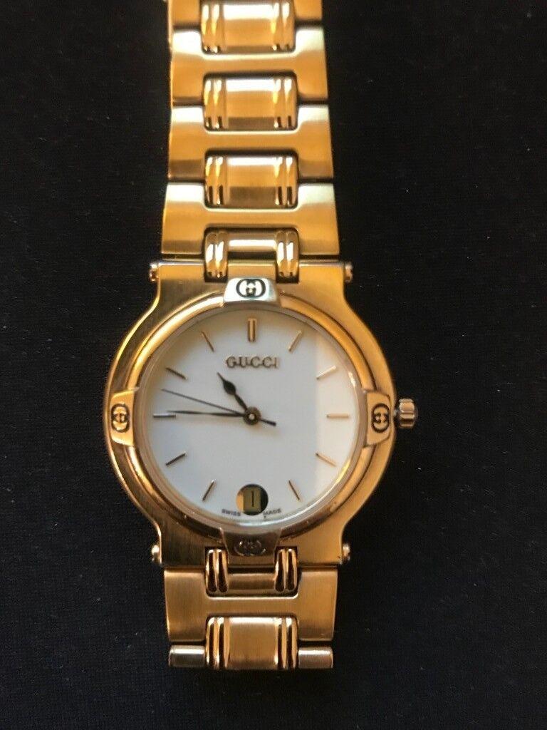 ad608242cf8 Authentic Gucci Ladies Quartz Gold Plated Wristwatch 9200l 9200m ...