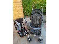 Mama & Papas Pram + Britax Car seat