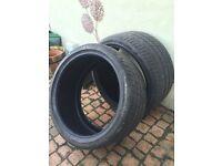 "2 x 19"" Tyres Pirelli P Zero - 275/30/19"