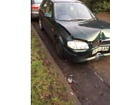 1999 Mazda 323 1.5 GXi 5dr green BREAKING FOR SPARES