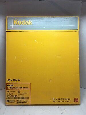 Kodak 1 Box Of 100 Dental X-ray Sheets 35x43cm