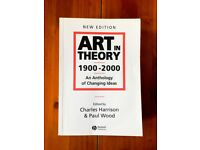 Art in Theory, 1900-2000 An Anthology of Changing Ideas