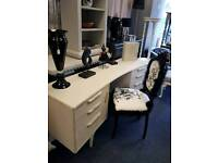 Vintage retro dressing table