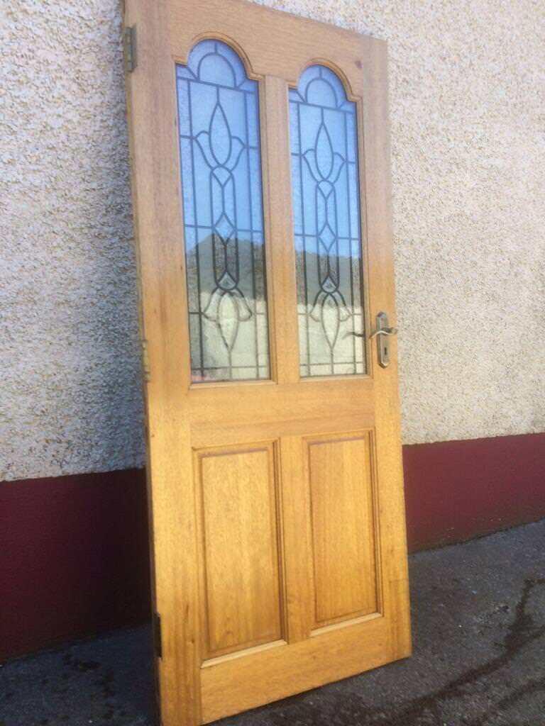 Solid Hardwood Exterior Door In Londonderry County Londonderry