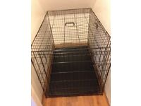XL DOG CAGE & EASY CLEAN TRAY