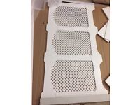 Large Radiator cover by B&Q