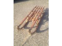 DADOS solid wood sled