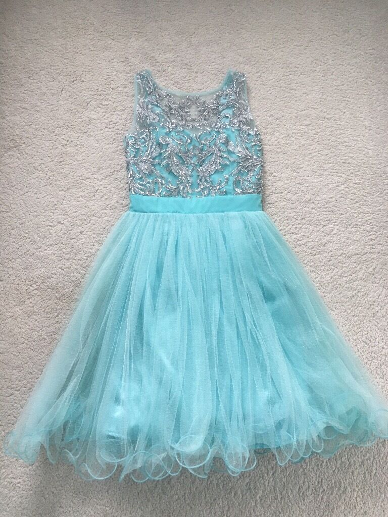 Girls gorgeous Quiz prom dress size UK 10 | in Airdrie, North ...