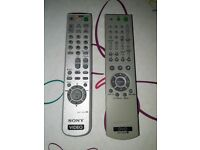2 Sony remote controls. Can you use?