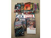 Mixed comics/graphic novels, Marvel, DC