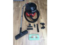 Twin Speed Numatic Henry Vacuum Cleaner With All Attachments