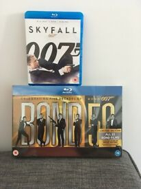 Brand new James Bond Blu-ray collection
