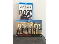Brand new James Bond Blu-ray collection