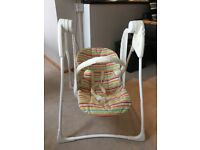 Battery Operated Graco Baby Swing