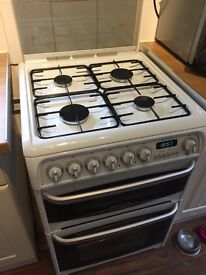 Dual double oven