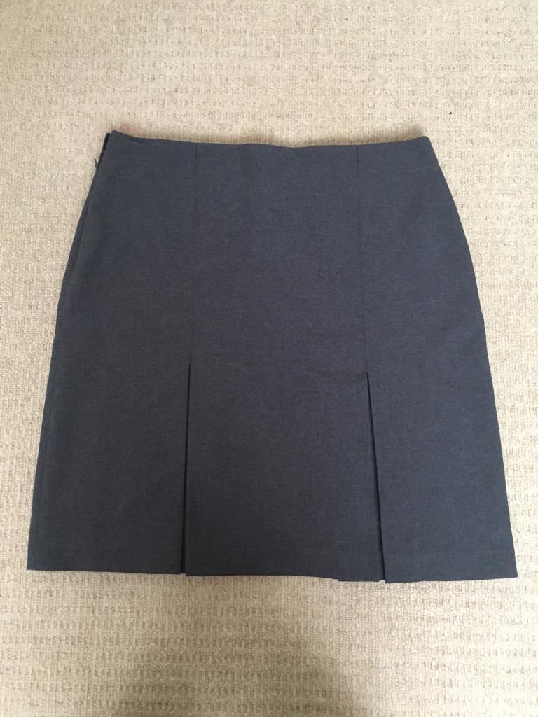 Dark grey Trutex Plume Academy Skirt