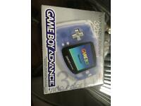 GAMEBOY ADVANCE 32 BIT COLOUR - RETRO GAMING CONSOLE HANDHELD