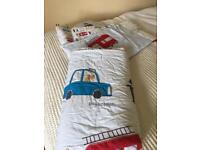Baby bumper and quilt