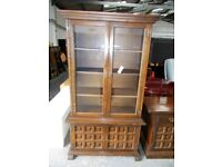 Younger 'Toledo' Display cabinet and cupboard…WF2253