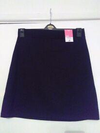 **BRAND NEW** School Uniform, Age 16-17 girls. Black Smart Trousers & Tube Skirt