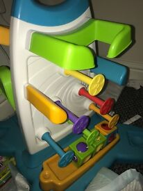 Fisher price roller blacks wall