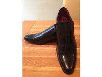 French Connection 'Henry' Men's Black Smart/Dress Shoes (UK10/EU44/US11) (never worn) JUST REDUCED