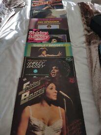 7 SHIRLEY BASSEY VINYL RECORD L/P