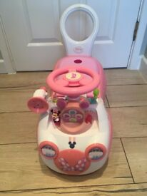 Minnie Mouse Ride-On Car