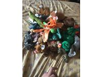 ty Beanie Baby's with tags on in perfect condition