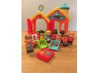 Happyland school set