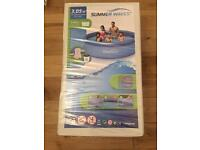 Swimming pool 10ft brand new+pump+cover