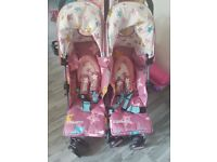 Brand new Cosatto double pushchair.