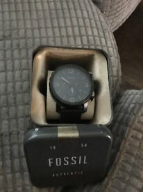 Mens fossil watch.