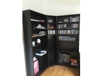 IKEA BILLY Corner bookcases x3 - excellent condition